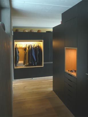 Eingang Garderobe superform eingang mit garderobe schreinerei superform wetzikon
